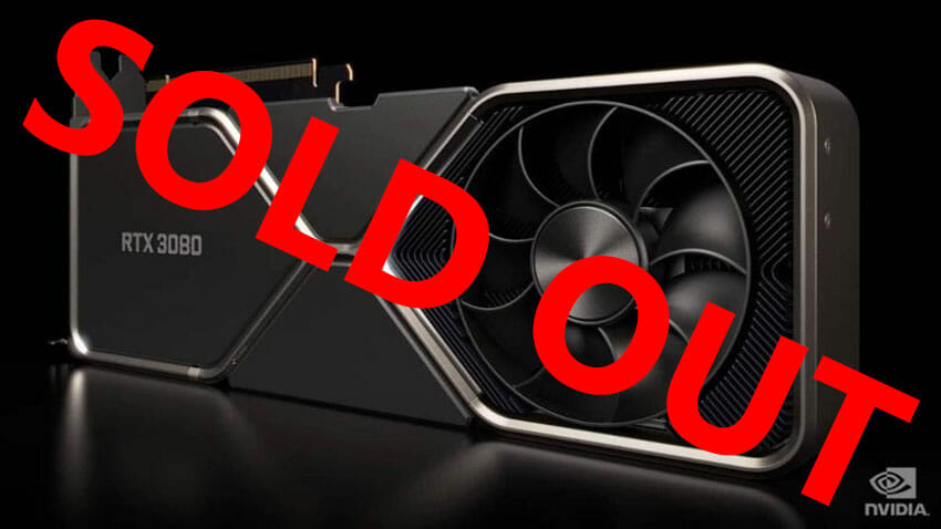 Nvidia's RTX 3070 sells out within mere minutes post-launch – Scalpers again?
