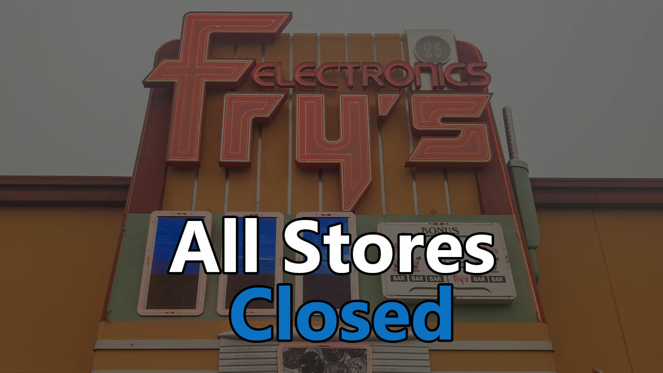 frys electronics closes all stores