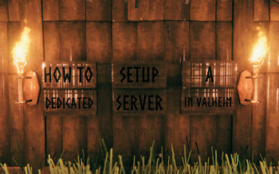 How to quickly set up a good dedicated server for Valheim